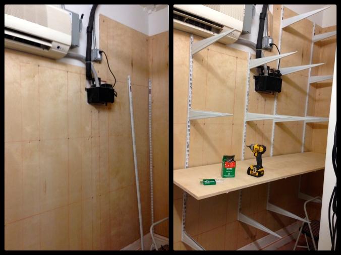 Server Room Wall Shelves – SoHo
