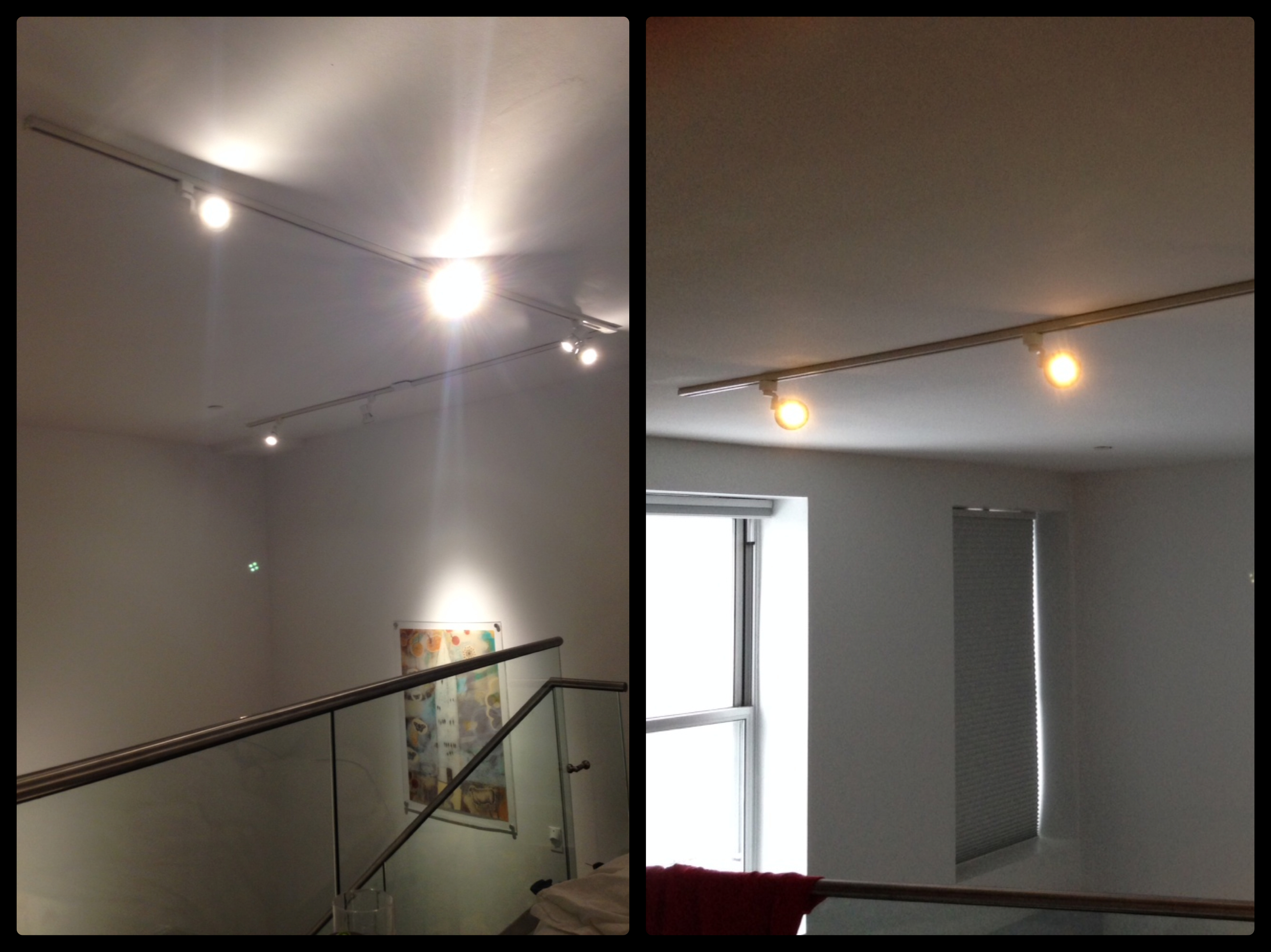 Electrical Wiring, Track-light & Dimmer Installation on 25' High Ceilings – Williamsburg