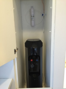 Bottleless Cooler located 50' from water supply