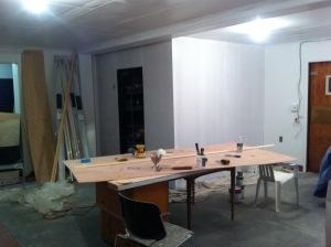 Refrigeration Room to Yoga Room Conversion
